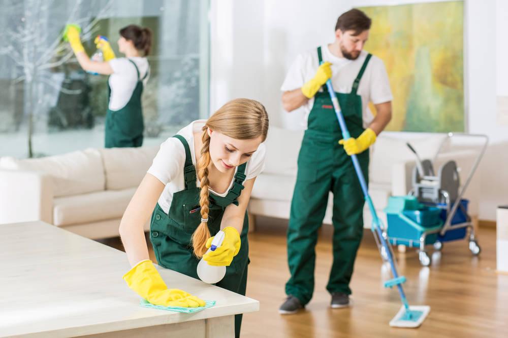 En quién delegar la limpieza